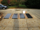 Heating, Air conditioning, HVAC services in Maryland and Northern Virginia Solar Panels waiting to be installed